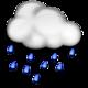 Risque de pluie